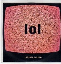 (BS138) Lol, Squeeze Me - DJ CD