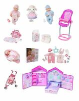 Zapf Creation Baby Annabell Collection Doll Accessory Playset Childrens Baby Toy