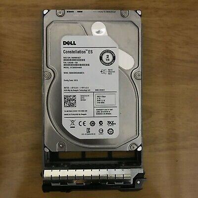 "Dell 2TB 6G 7.2K 3.5/"" SAS R755K 0R755K HDD Hard Drive W// Tray"