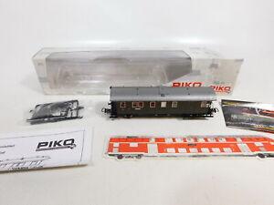 CE672-0-5-Piko-H0-DC-53144-Personenwagen-3-Klasse-99-995-DRG-NEM-NEUW-OVP