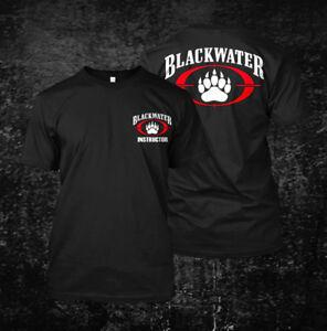 Black-Water-Instructor-millitary-Custom-Men-039-s-T-Shirt-Tee
