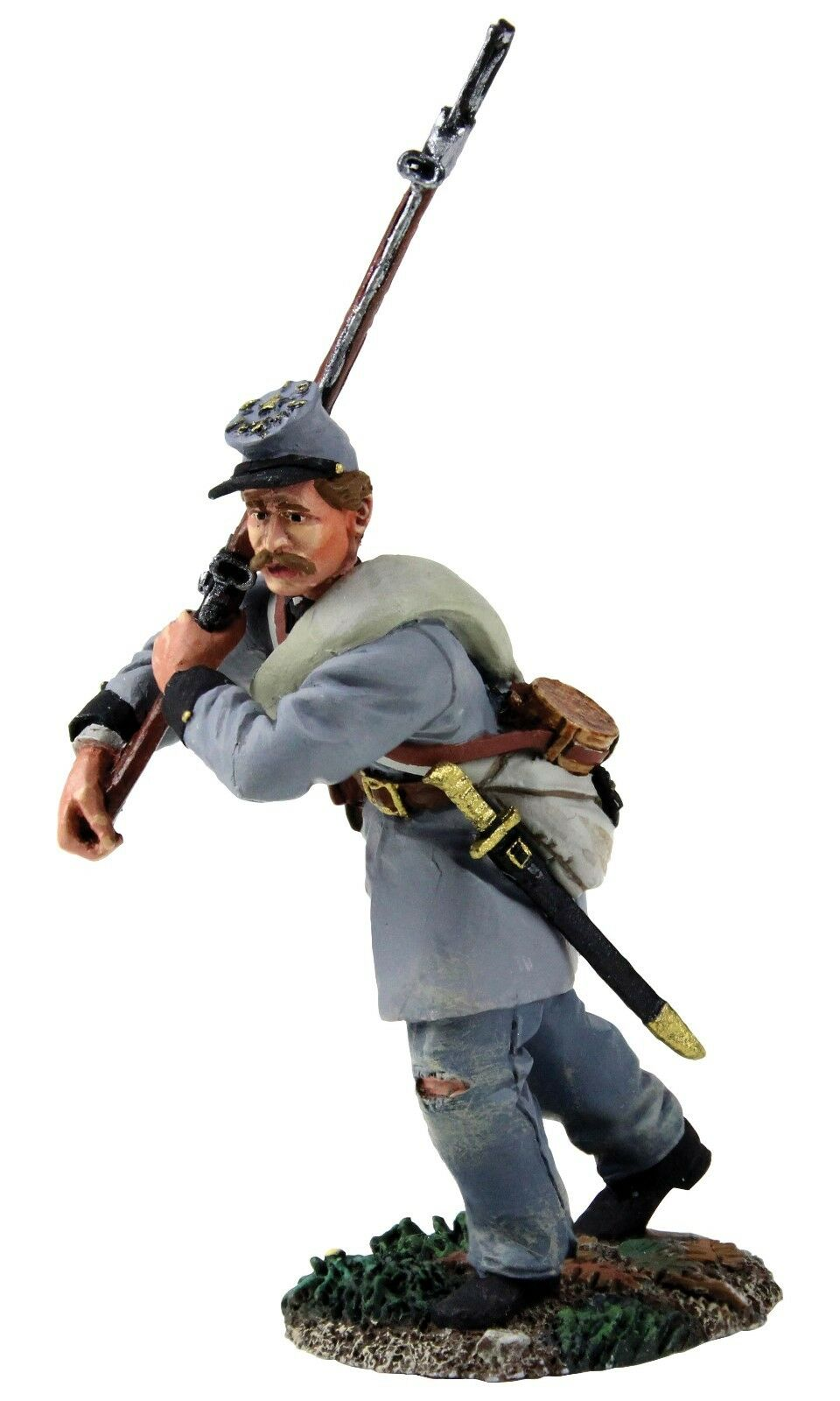 BRITAINS 31261 - Confederate Infantry Texas Brigade Advancing No.2