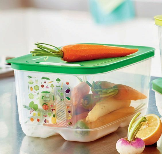 VentSmart 4,4l Tupperware for fruits and vegetables