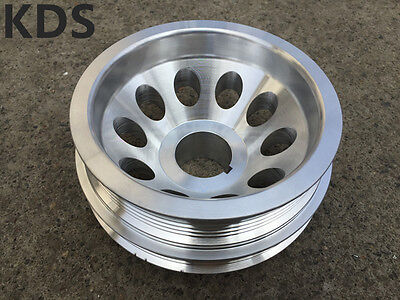 Underdrive pulley for Nissan 350Z 02-06 Infiniti G35 FX35 V35 VQ35DE 3pcs