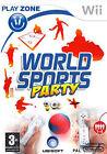 World Sports Party (Nintendo Wii, 2009) - European Version