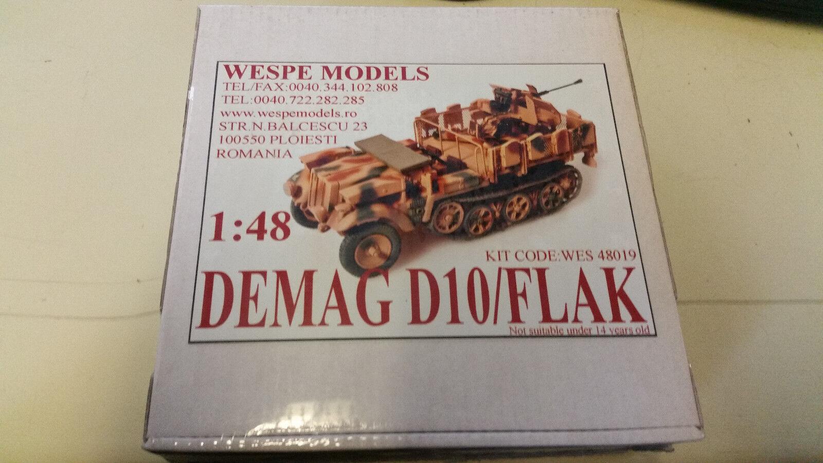 Demag D10 Flak Flak Flak Wespe Resin Models 1 48 Wes 48019 9960b4