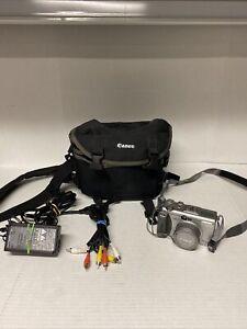 Canon PowerShot G3 4.0MP Digital Camera - Silver  PC1032