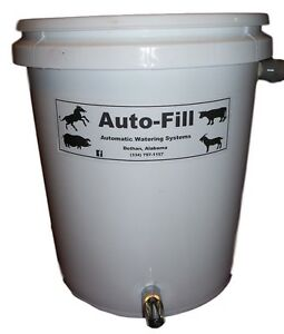 Pig Goat Horse Animal Automatic Bucket Nipple Waterer - Garden Hose Connection