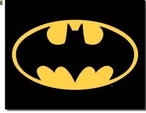 """Tin Sign #1334 12.5/"""" x 16/""""  Metal Batman Logo"""