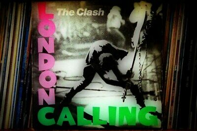 The Clash London Calling 1979 Album Cover Stretched Canvas Wall Art Poster Print