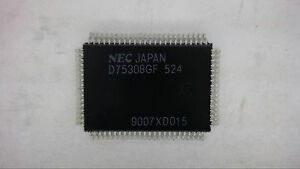 Details about NEC UPD75308GF 80-Pin QFP Microcontroller IC New Quantity-1