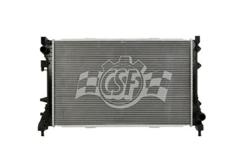 Radiator-1 Row Plastic Tank Aluminum Core CSF 3530 fits 09-19 Fiat 500