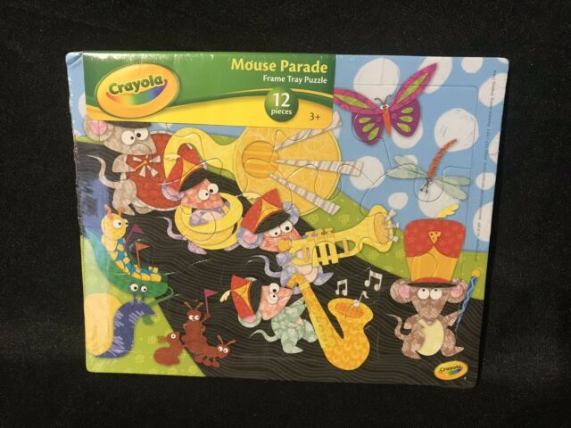 Minnie Mouse 12 Piece Wooden Jigsaw Puzzle *NEW /& SEALED*