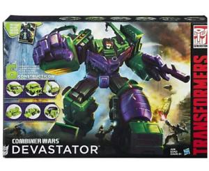 New Huge Huge Huge Misb Hasbro Transformers Generations Combiner Wars Devastator 50f3a9