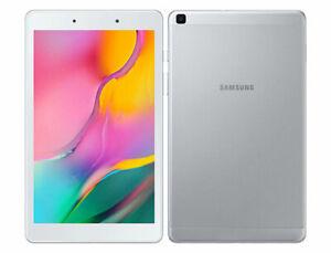 Samsung Galaxy Tab A Sm T295 2019 8 0 32gb Silver Gray Factory Unlocked Ebay