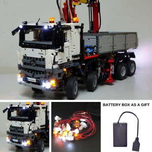 LED-Light-Kit-ONLY-For-42043-Mercedes-Benz-Arocs-3245-Truck-Lighting-Brick-42043