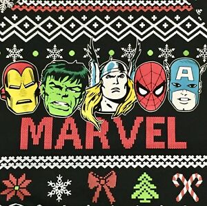Marvel Christmas.Details About Marvel Comics Jr Women S Crew Neck Ugly Christmas Xmas Sweater Sweatshirt Xxl 19