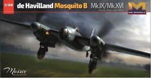 Modèles Hong Kong 1/32 De Havilland Mosquito Mk.ix / mk.xvi # 01e16