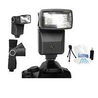 Pro Auto Flash Holiday Bundle For Nikon Coolpix P900 P900s P610s P600