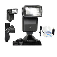Pro Auto Flash Holiday Bundle For Canon Eos Rebel T7i T6i T6s T5i T6 T5