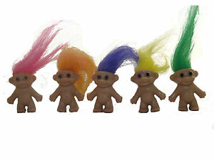 Mini-Trolls-Mixed-Colours-Party-Bag-Toys-Lucky
