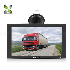 9-Zoll-LKW-PKW-GPS-Navigationsgeraet-Auto-Navi-2D-3D-Kartenansicht-EU-Karte-XGODY