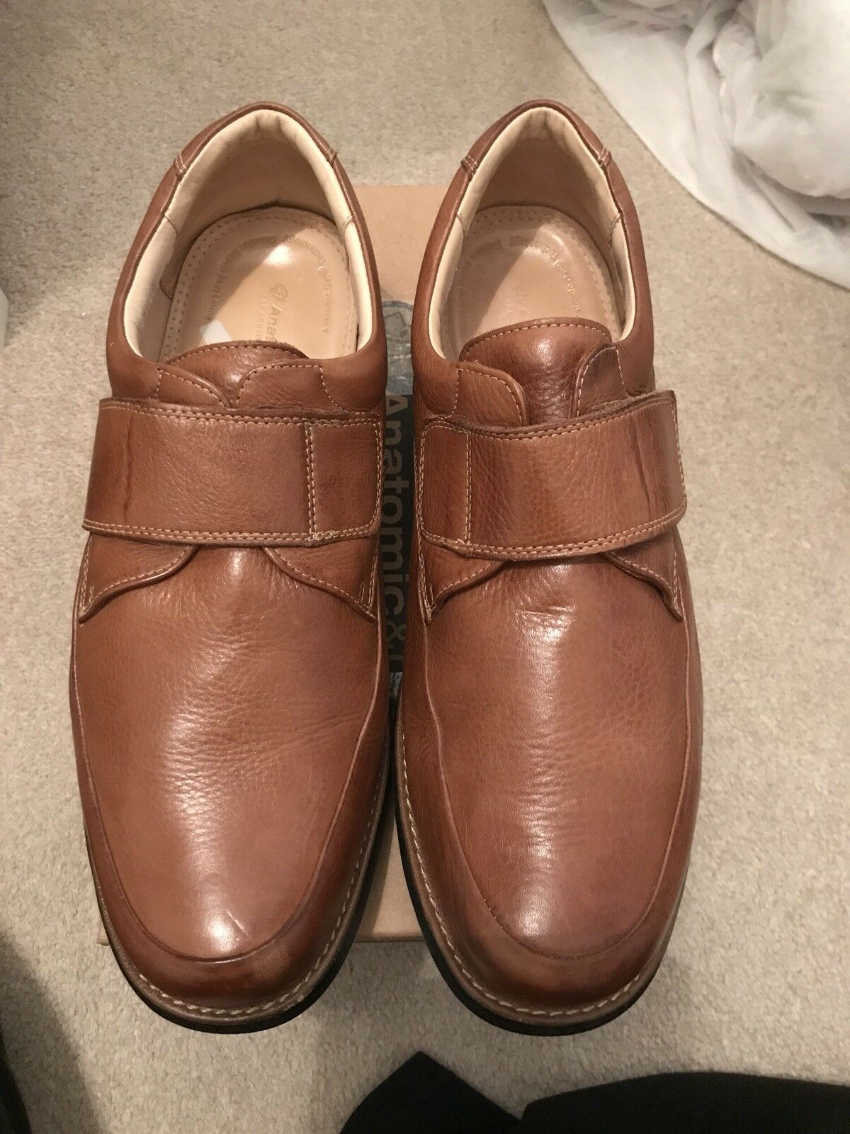Anatomic & RRP Co Tan Leather Shoes Size 12 RRP & ea76e9