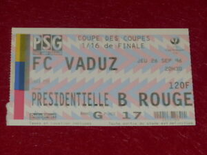 COLLECTION-SPORT-FOOTBALL-TICKET-PSG-VADUZ-26-SEP-1996-COUPE-DES-COUPES-1-16