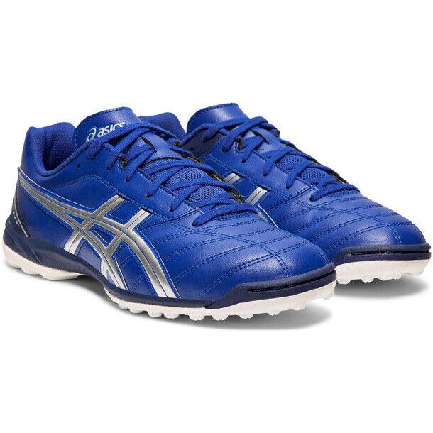 Asics JAPAN DS Light 2 TF SL Indoor Turf Football Futsal shoes TST666 bluee