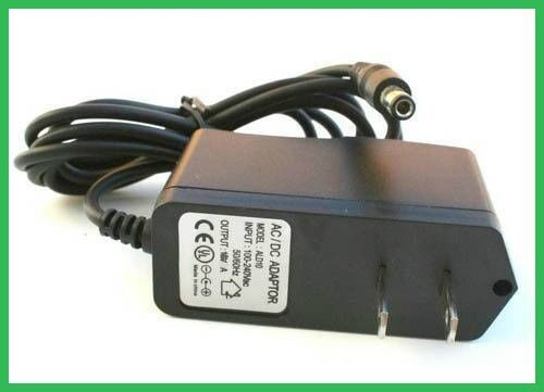 US Plug AC//DC 9V 600mA 0.6A Power Supply adapter wall charger 5.5x2.5mm