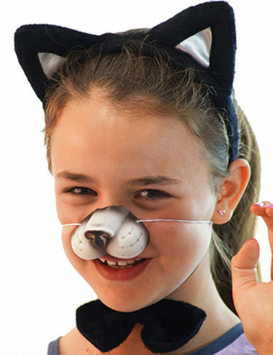 World Book day-Cat in the Hat-Puss In Boots Black Cat Set accessoire robe fantaisie