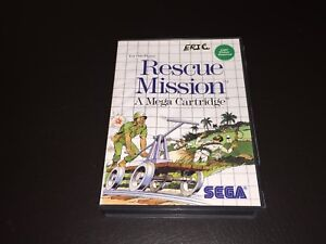 Rescue-Mission-Sega-Master-System-Complete-CIB-Cleaned-amp-Tested
