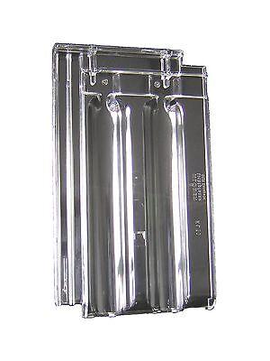 Ziegel & Pfannen Klöber Lichtpfanne Kl 0033 Acrylglaspfanne Für Doppelmuldenziegel SchöNe Lustre