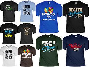 Sprüche T Shirt Opa Geschenk Geburtstag Opi Vatertag Patchwork