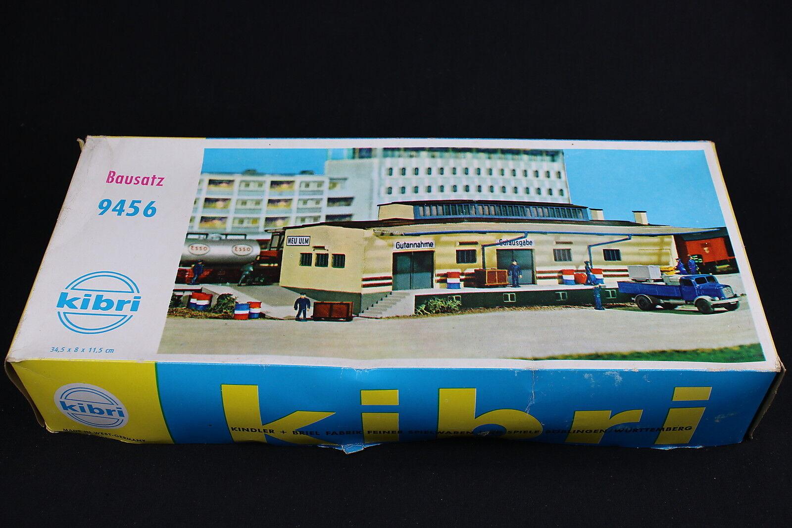W146 KIBRI Train Maquette Ho 9456 Depot marchandises gare diorama Guterschuppen