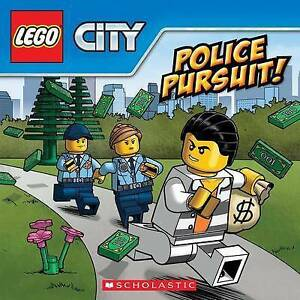 Police-Pursuit-Lego-City-by-Rusu-Meredith-NEW-Book-FREE-amp-Fast-Delivery