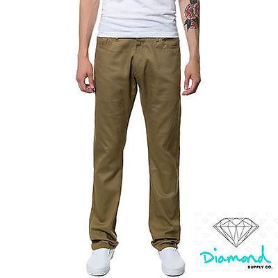 NWT Diamond Supply Co. Brilliant Cut Herringbone Skateboard Denim Jeans Pant