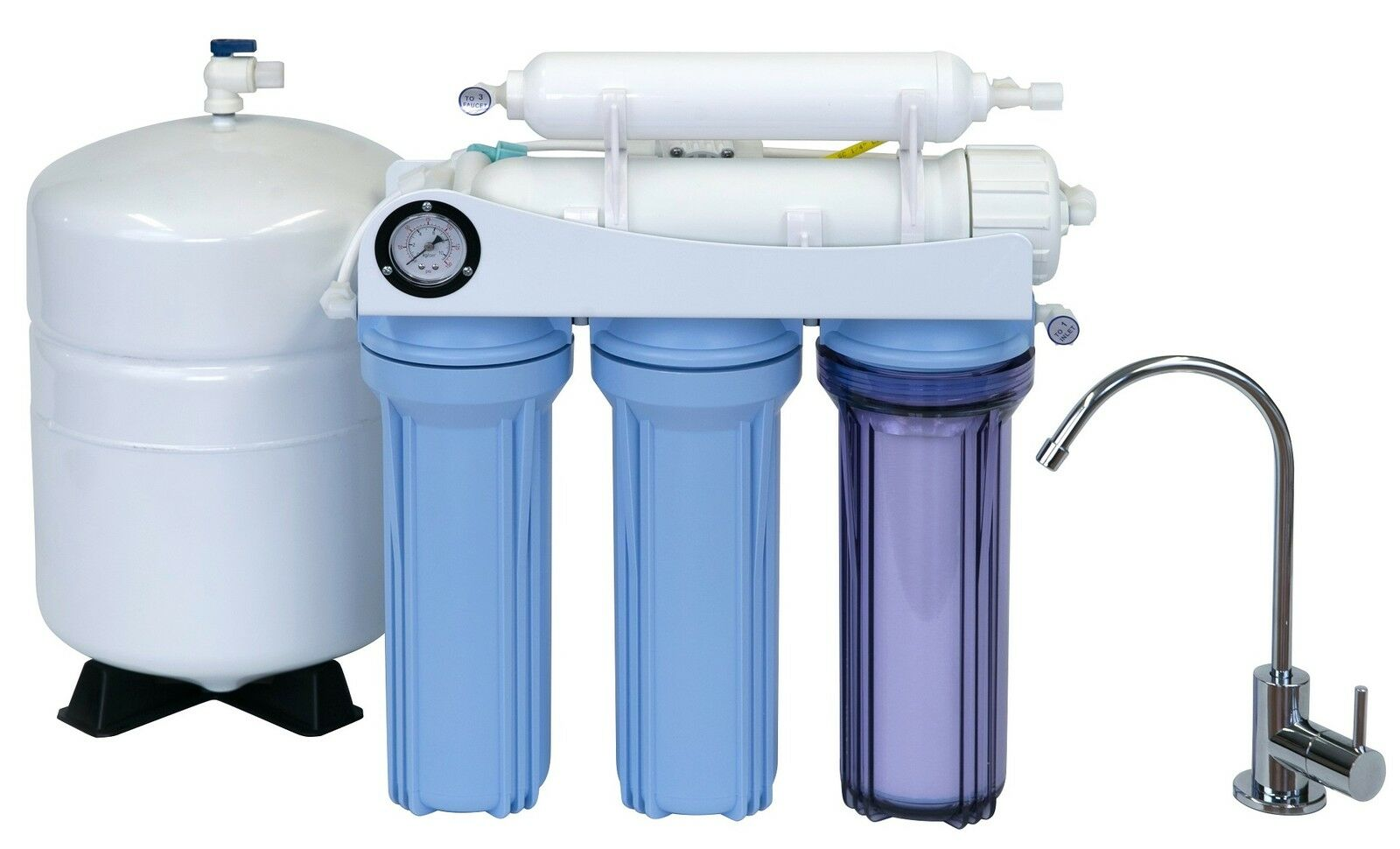Koolermax K-5 Osmose Inverse Osmose Inverse Filtre à Eau Système Potable + mise à niveau Usa Made