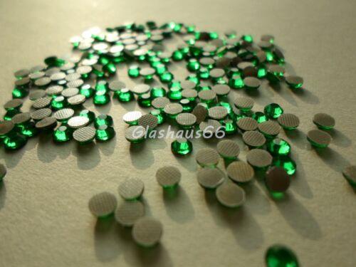 *Emerald//Grün* SS16~3,8-4mm 350 Hotfix Strasssteine Super Qualität