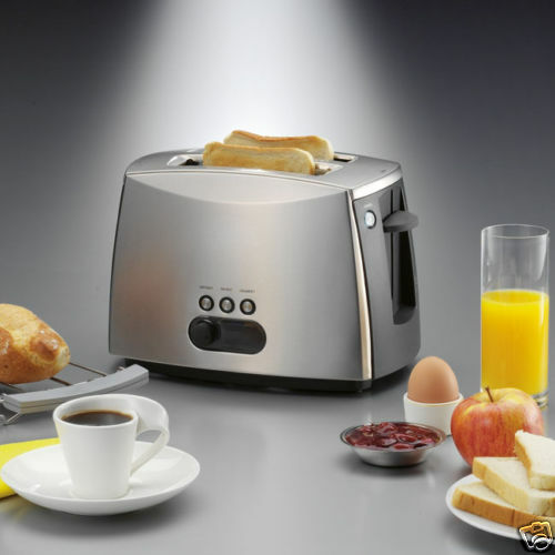 GRILLE PAIN TOASTER DOUBLE FENTE AVEC SUPPORT CROISSANT