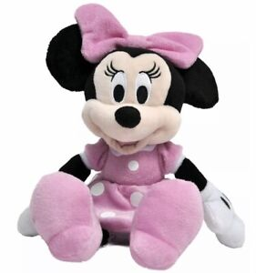 """Disney Minnie Mouse 11"""" Plush Pink Doll - Stuffed Toy Authentic Licensed~ NEW"""