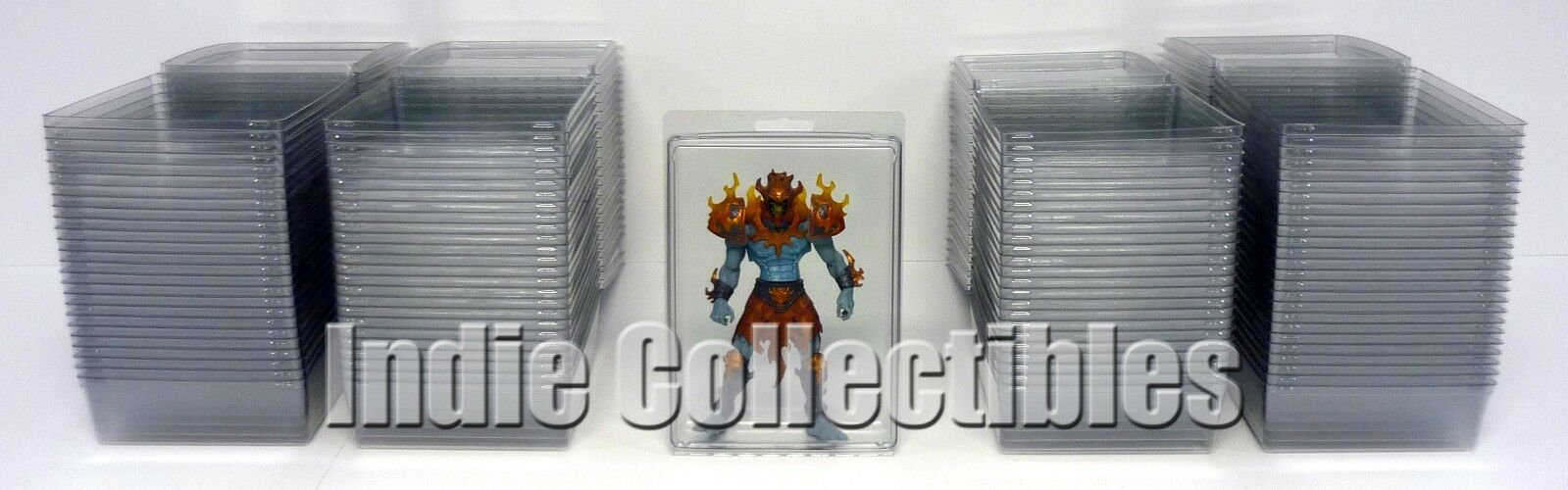 MOTU BLISTER CASE LOT OF 100 Action Figure Display Protective Clamshell XX-LARGE