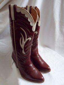 White Cowboy / Western Boots UK 3.5
