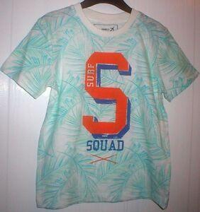 Boys-Holiday-Summer-Beach-TShirt-T-Shirt-Top-Age-4-5-Years