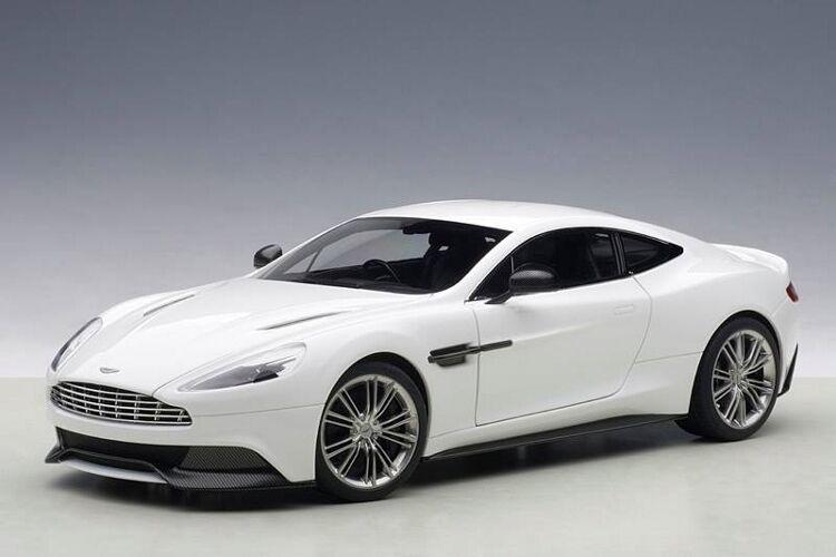 1 18 Autoart Aston Martin Vanquish 2015 (Glossy blanc) Full inaugurations