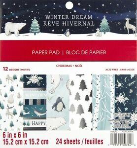 Paper-pad-Papier-block-Craft-Smith-Winter-Dream-Weihnachten-Christmas-604252