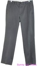 Dockers Mens Pants Cotton Signature D1 Slim Fit Flat Front Wrinkle Free 32 x 30