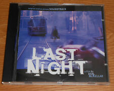 Last Night, movie soundtrack CD 1998 Pete Seeger 5th Dimension etc very good