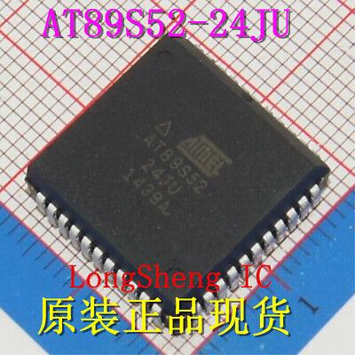 10pcs AT89S52-24JU PLCC44