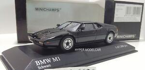 MINICHAMPS-1-43-BMW-M1-Street-1978-Black-Art-430025027